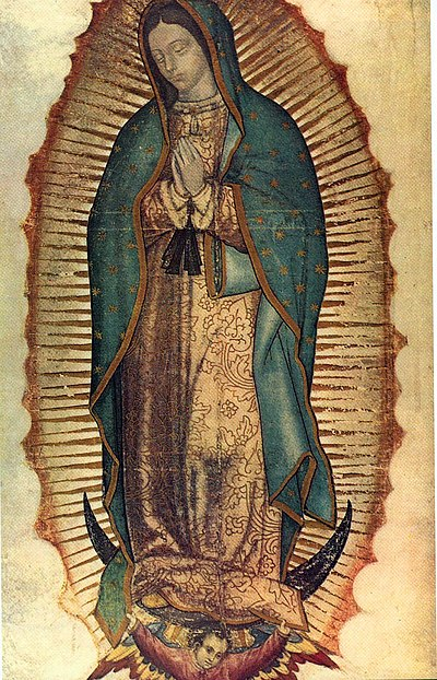 Our Lady of Guadalupe is widely considered integral to the cultural identity of Mexico. Virgen de guadalupe1.jpg
