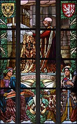 Viribus Unitis - stained glass in Kutna Hora.jpg