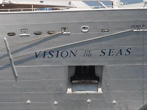 Vision of the Seas' Name Tallinn 13 June 2012.JPG