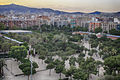 Vista aèria del Parc de Joan Miró des de Les Arenes.jpg