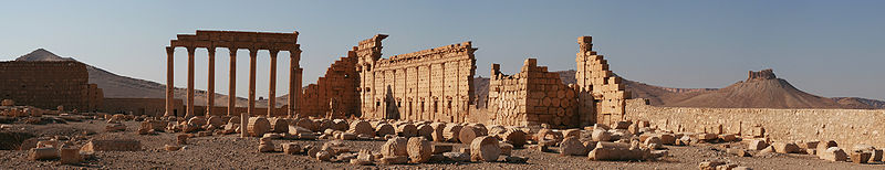 Vista panorámica de Palmira