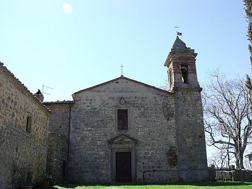 Vivo d'Orcia, Pieve di San Marcello