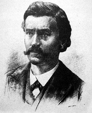 Volodymyr Antonovych - T. Meyerhoffer. Portrait of V. Antonovych, late 19th century.