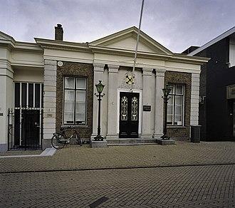Sliedrecht - Former city hall of Sliedrecht
