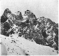 Vrh Ponce in sev. greben iz Škrbine nad Ozebnikom 1940.jpg