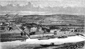 John Cockerill (company) - View over the Cockerill plant at Seraing.