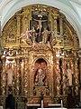 WLM14ES - Un retablo ....... Sala Capitular del Monasterio del Paular, hoy convertida en capilla - jacilluch.jpg