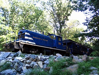 Wilmington and Western Railroad - Image: WW engine 114 1