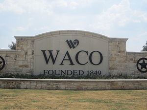 Waco, TX, welcome sign IMG 0664.JPG