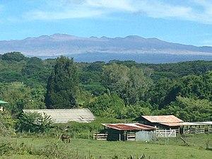 Waiākea-Uka - Mauna Kea from Hoaka Road in Waiakea-Uka.