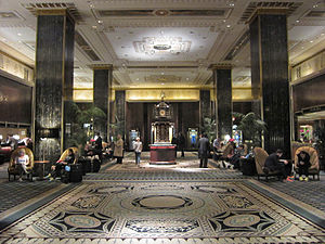 The Royal Tenenbaums - Filming took place at the Waldorf-Astoria.