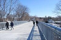 Walkway Over the Hudson Poughkeepsie side.JPG