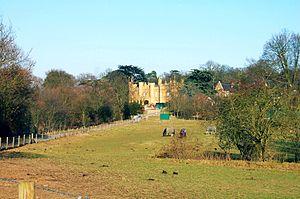 Sir Charles Pole, 1st Baronet - Aldenham Abbey, Pole's house in Hertfordshire