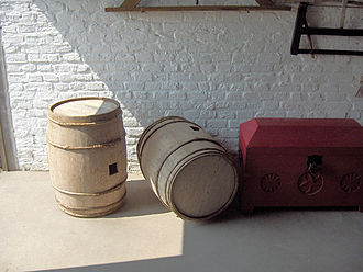 Walraversijde - Barrels for salted herring