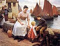 Walter Langley - The Greeting 1904.jpg