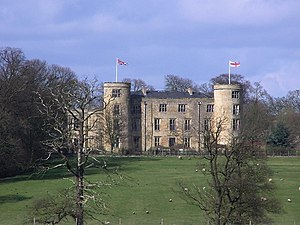 Walworth, County Durham - Walworth Castle, the nucleus of the central village