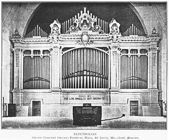 Wanamaker Organ - The organ in its original home, the 1904 World's Fair.