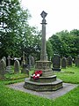 War Memorial, The Parish Church of St James, Briercliffe, Burnley - geograph.org.uk - 832775.jpg