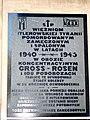 Warszawa, kościół pw. Wszystkich Świętych, tablica pamiątkowa DSC06964.JPG