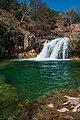 Waterfall Trail at Fossil Creek (25392139221).jpg
