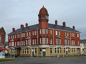 Pillgwenlly - Image: Waterloo Hotel, Pillgwenlly geograph.org.uk 666381