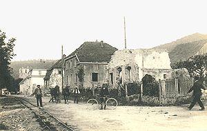 Wattwiller - Wattwiller ruins in 1920