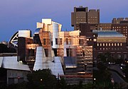 University of Minnesota teaching art museum, student union and teaching hospital