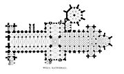 Plan of Wells Cathedral.