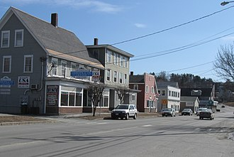 West Lebanon, New Hampshire - Main Street, West Lebanon, in 2012