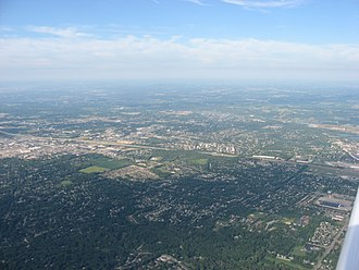 West Carrollton, Ohio - Aerial view of West Carrollton/ Miamisburg