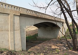 West Plum Bush Creek bridge (Last Chance, CO) from SW 2.JPG