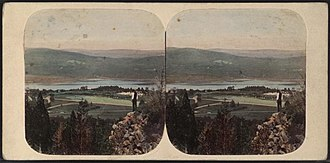Rufus Putnam - View of the West Point area from Fort Putnam.