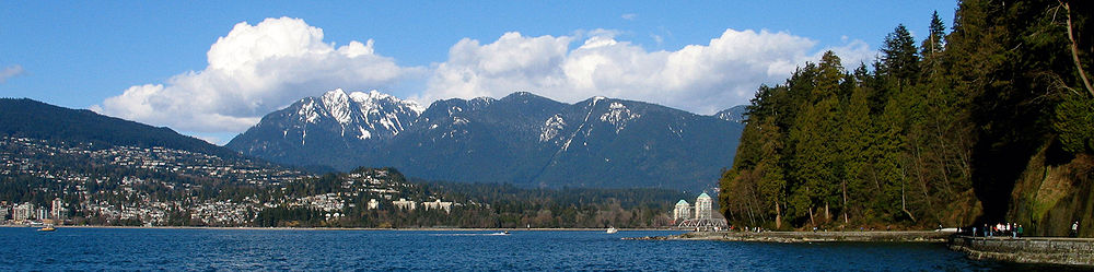 West Vancouver as seen from Stanley Park