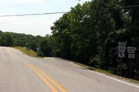 West end of Arkansas 127S.jpg