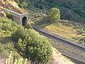 West end of southern rail tunnel in Thistle, Utah, Jul 15.jpg