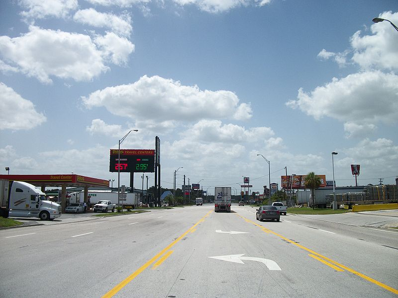 File:Westbound FL 44 @ Wildwood Pilot Travel Center.JPG
