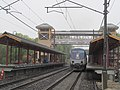 Westbrook station with SLE train May 2013.JPG