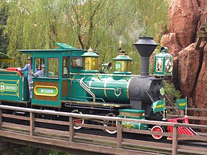 Tokyo Disneyland - Western River Railroad.