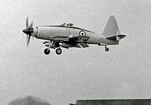 Wyvern TF Mk.2 na Farnborough Air Show v roce 1953