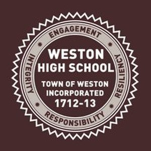 Weston High School (Massachusetts) - Image: Weston High School MA