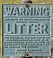Whatever happened to the 1958 Litter Act^ - geograph.org.uk - 716497.jpg