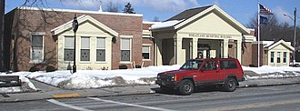 Wheatland, New York - Wheatland Town Office Building