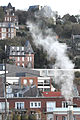 White smoke befor hill in Le Havre 2014 11.jpg