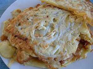 Whitebait - New Zealand whitebait fritters