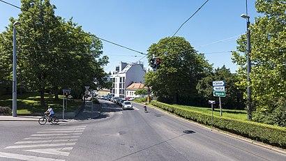 So kommt man zu Krottenbachstraße, Wien mit den Öffentlichen - Mehr zum Ort Hier