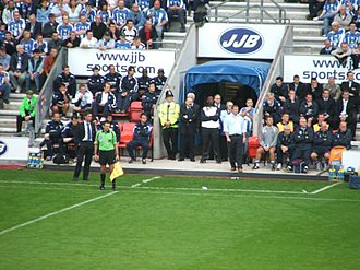 Wigan Athletic F.C. - Wigan Athletic's first Premier League match against Chelsea