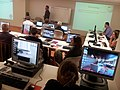Wiki training session at Qld State Library.jpg