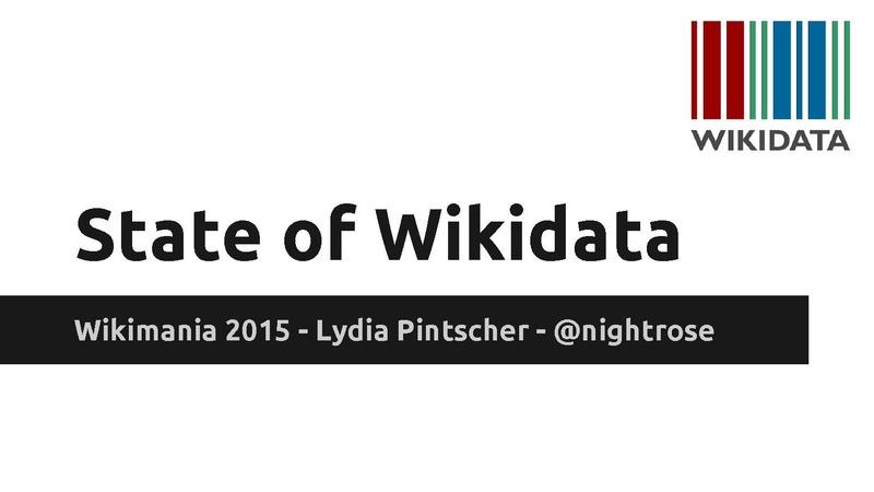 File:Wikimania 2015 - State of Wikidata.pdf
