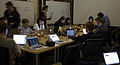 Wikimedia Foundation SOPA War Room Meeting AFTER BLACKOUT 1-17-2012-1-3.jpg
