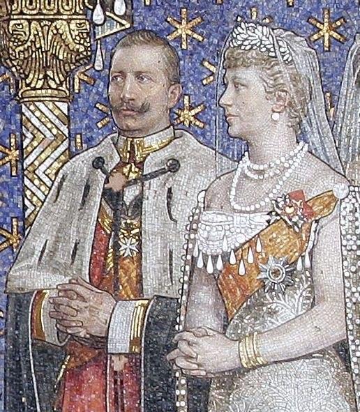 Wilhelm II + Auguste Viktoria